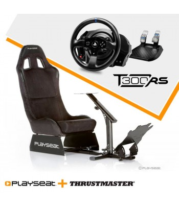 Playseat Alcantara + T300 RS