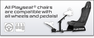 Playseat Compatible All wheels and Pedals